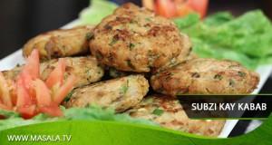 Subzi kay Kabab By Rida Aftab