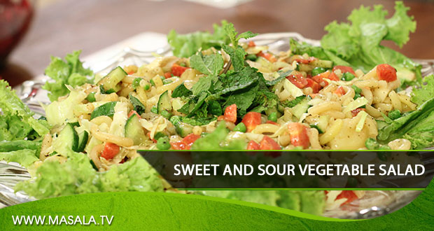 Sweet and Sour Vegetable Salad By Rida Aftab