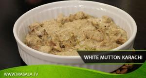 White Mutton Karachi By Zubaida Tariq