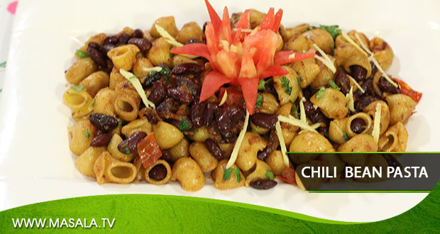Chili Bean Pasta By Rida Aftab