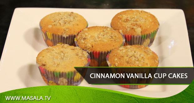 Cinnamon Vanilla Cupcakes