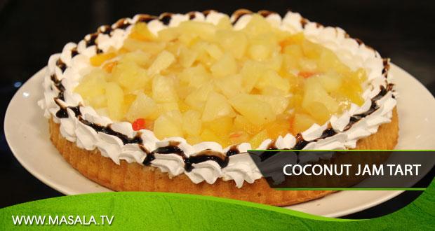 Coconut Jam Tart by Shireen Anwar