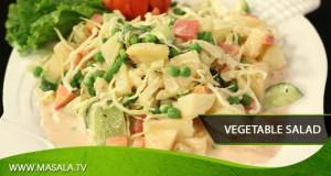Vegetable Salad by Rida Aftab