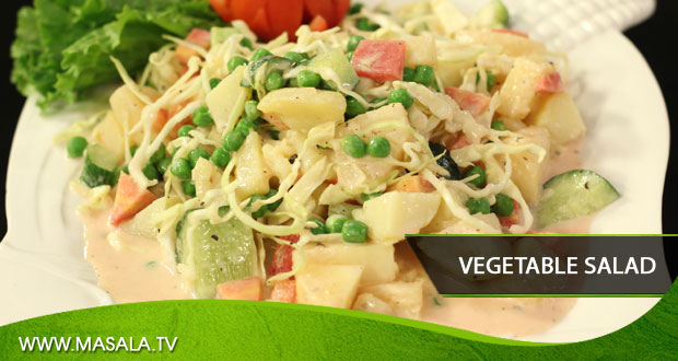Vegetable Salad by Rida Aftab
