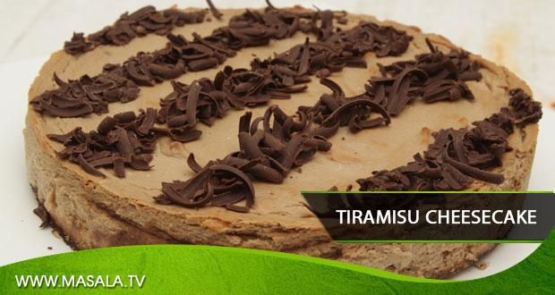 Tiramisu Cheesecake by Zarnak Sidhwa