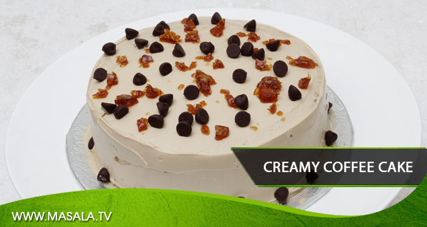 Creamy Coffee Cake by Zarnak Sidhwa