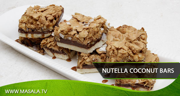 Nutella Coconut Bars