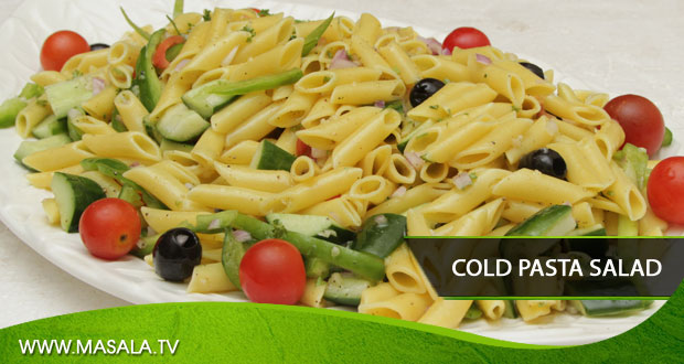 Cold Pasta Salad by Zarnak Sidhwa