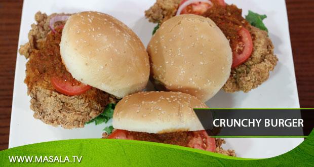 Crunchy Burger by Gulzar Hussain