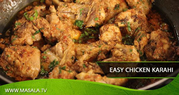 Easy chicken karahi by shireen anwar masala tv easy chicken karahi by shireen anwar forumfinder Images