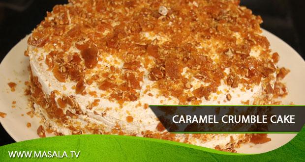 CARAMEL CRUMBLE CAKE