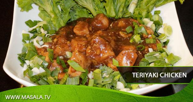 Teriyaki Chicken by Zarnak Sidhwa
