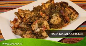 Hara Masala Chicken by Zubaida Tariq