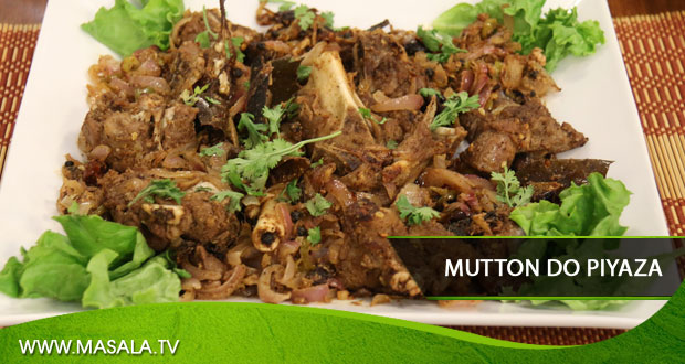 Mutton do Piyaza by Gulzar Hussain