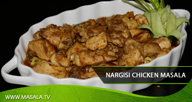 Nargasi chicken masala by Shireen Anwar