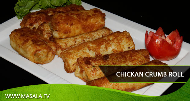Chicken crumb roll by Shireen Anwar
