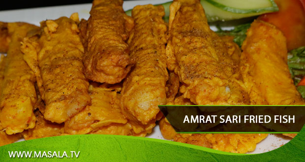 Amrat sari fried fish by Shireen Anwar