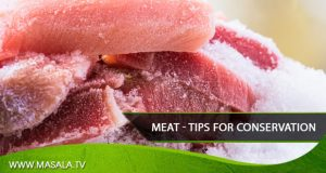 Meat – Tips for conservation