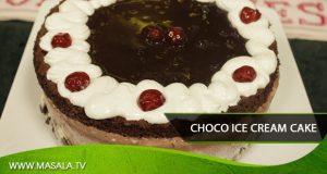 Choco Ice Cream Cake by Zarnak Sidhwa