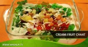 Creami Fruit Chaat by Rida Aftab