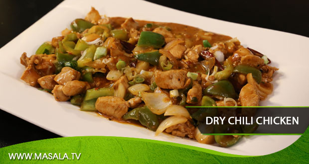 Dry Chili Chicken by Rida Aftab