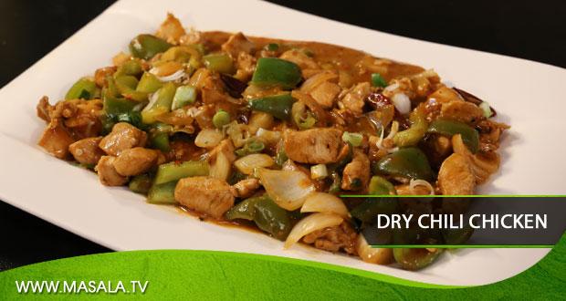 Dry Chili Chicken by Rida Aftab