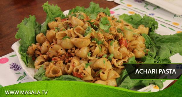 Achari Pasta by Rida Aftab