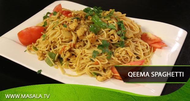 Qeema Spaghetti by Rida Aftab