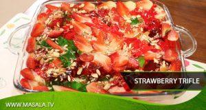 Strawberry Trifle by Rida Aftab
