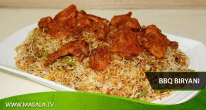 BBQ biryani by Shireen Anwar