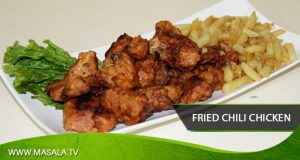 Fry chili chicken by Shireen Anwar