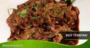 Beef teriyaki by Shireen Anwar
