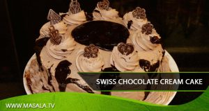 Swiss chocolate cream cake