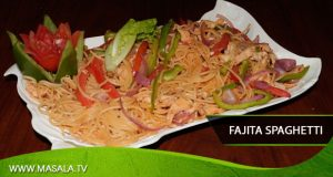 Fajita Spaghetti by Shireen Anwar