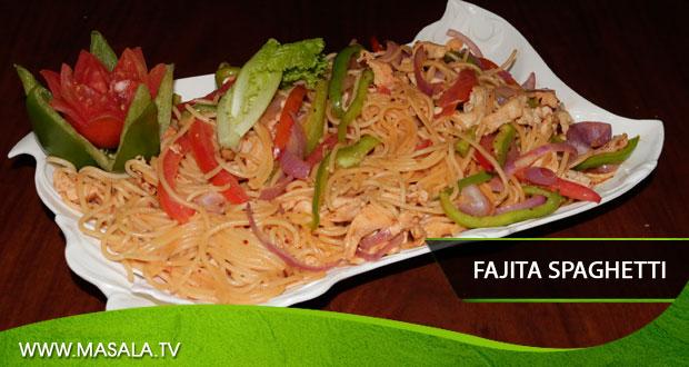 Fajita Spaghetti by Shireen Anwar