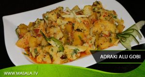 Adraki Aloo Gobhi by Shireen Anwar
