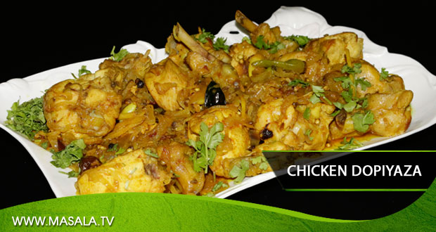Chicken Dopiyaza by Zubaida Tariq