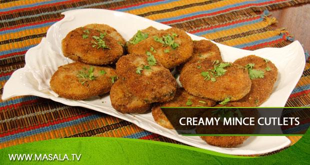 Creamy Mince Cutlets by Zubaida Tariq