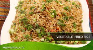 Vegetable Fried Rice by Zubaida Tariq