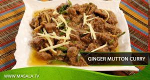 Ginger mutton curry by Zubaida Tariq