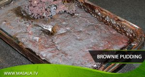 Brownie Pudding by Zarnak Sidhwa