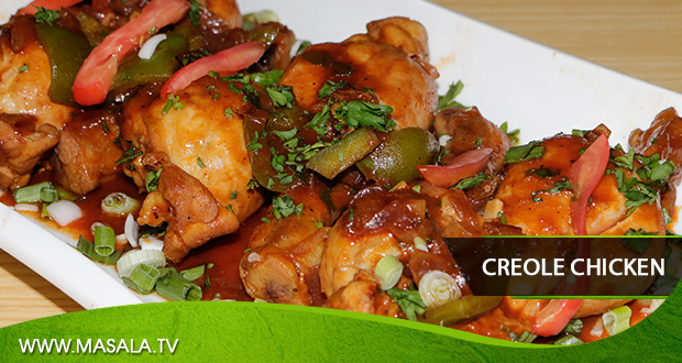 Creole Chicken by Zarnak Sidhwa