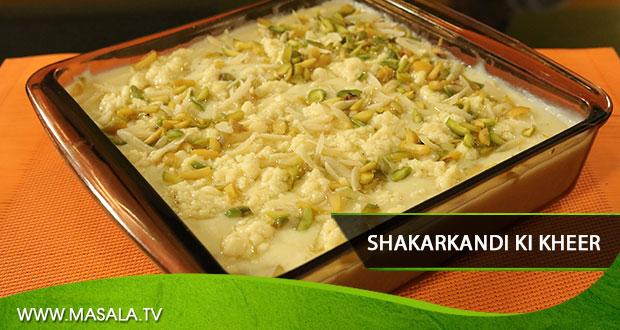 Shakarkandi ki Kheer By Zubaida Tariq
