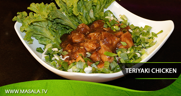 Teriyaki Chicken by Zarnak Sidhwa