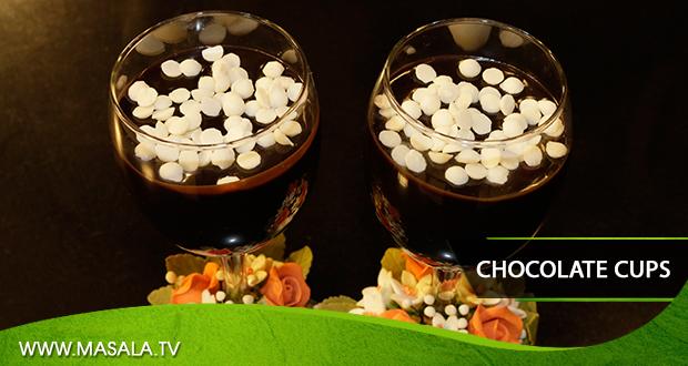 Chocolate Cups by Zarnak Sidhwa