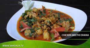 Chicken Meethi Dhana