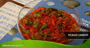 Pickled Carrots By Zubaida Tariq