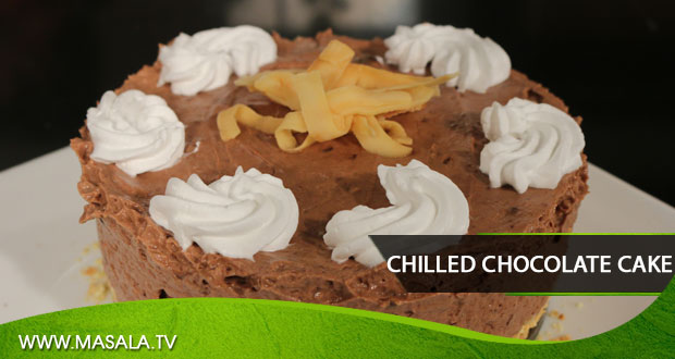 Chilled Chocolate Cake By Zarnak Sidhwa