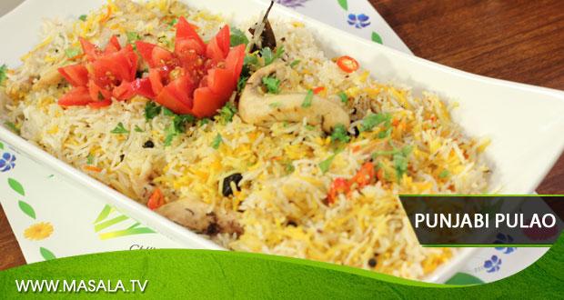 Punjabi Pulao By Rida Aftab