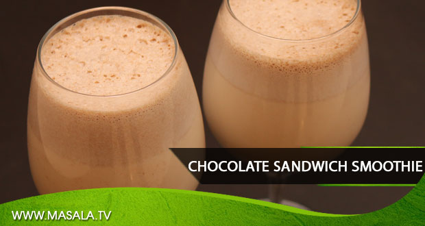 Chocolate Sandwich Smoothie By Rida Aftab